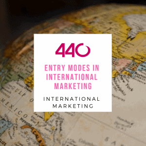 entry modes in international marketing