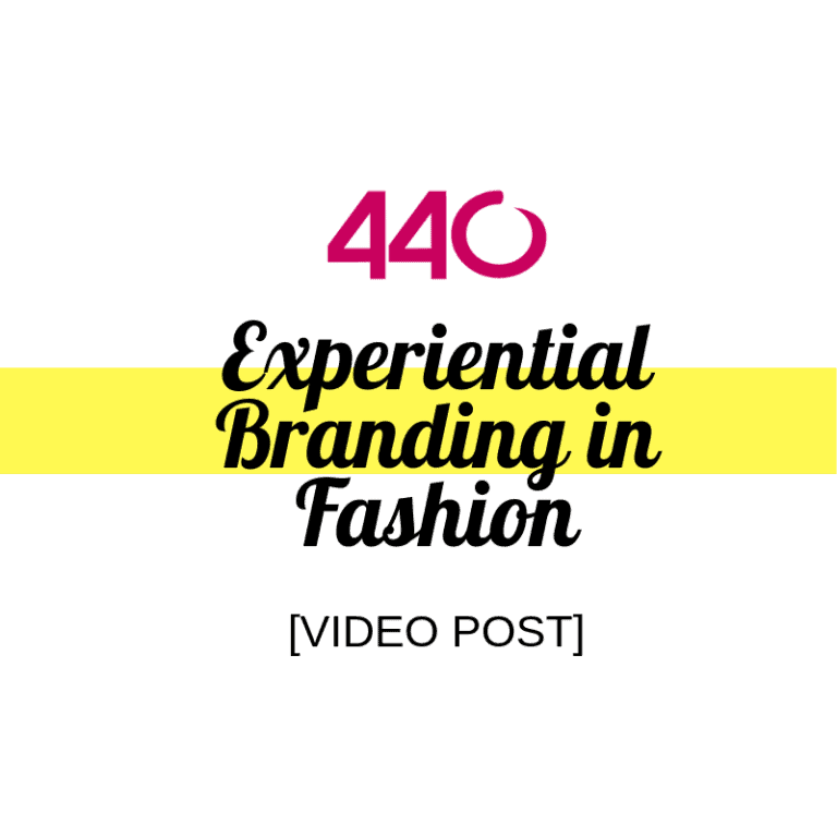 experiential branding in fashion