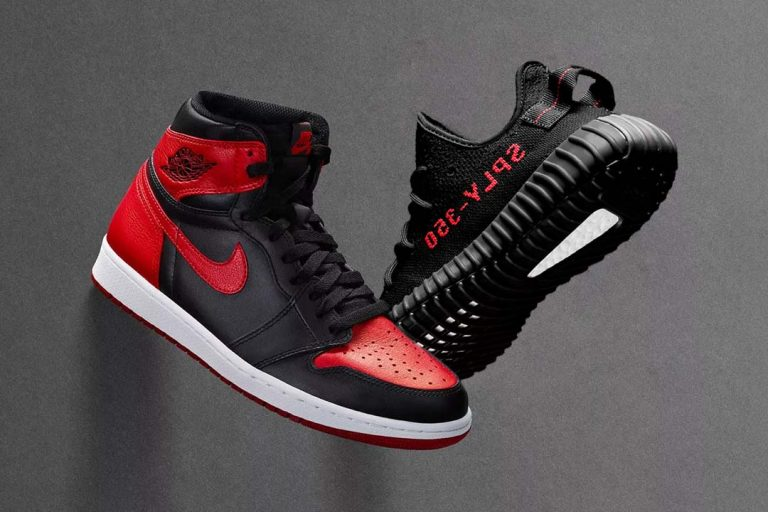 Yeezy vs Jordan Case Study: Competing at the Top - Image courtesy of Shutterstock